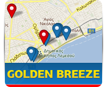 Сайт компании Golden Breeze